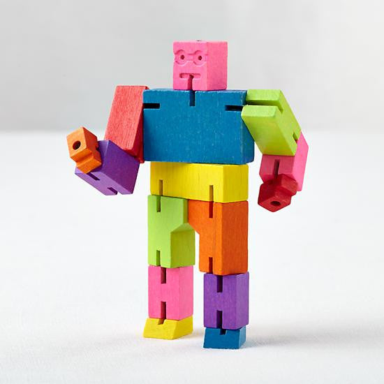 Cubebot Toy - Oh Happy Fry  - 1