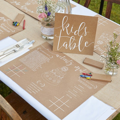 Wedding Activity Kit for Kids