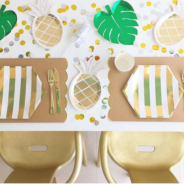 Palm Leaf Plates - Pack of 8 - Oh Happy Fry - we ship worldwide
