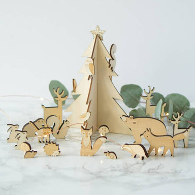 Woodland Advent Calendar - Oh Happy Fry - we ship worldwide