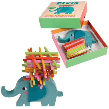 Elvis The Elephant Stacking Sticks Game - Oh Happy Fry