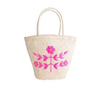 Embroidered Basket - Oh Happy Fry - we ship worldwide