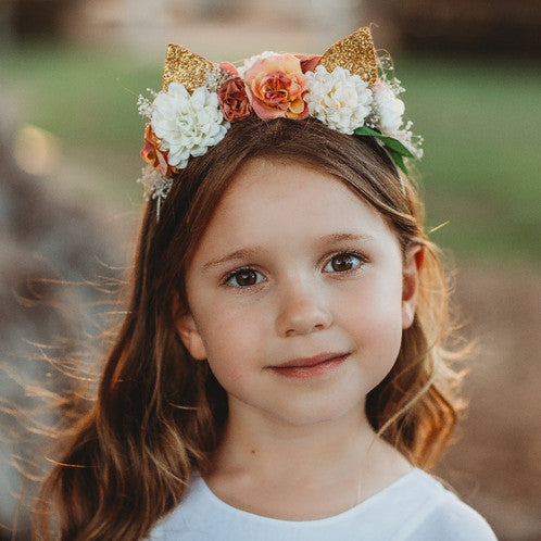 Cat Blossom Headband - Oh Happy Fry - we ship worldwide