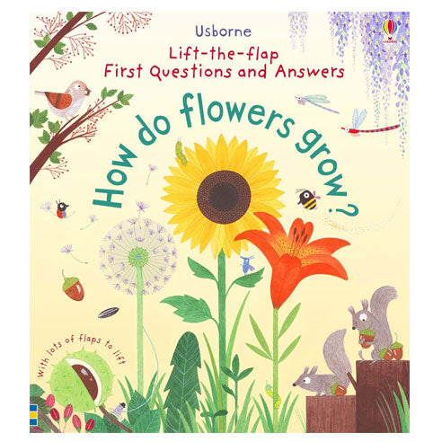 How do flowers grow? (Flip the Flap book) - Oh Happy Fry - we ship worldwide