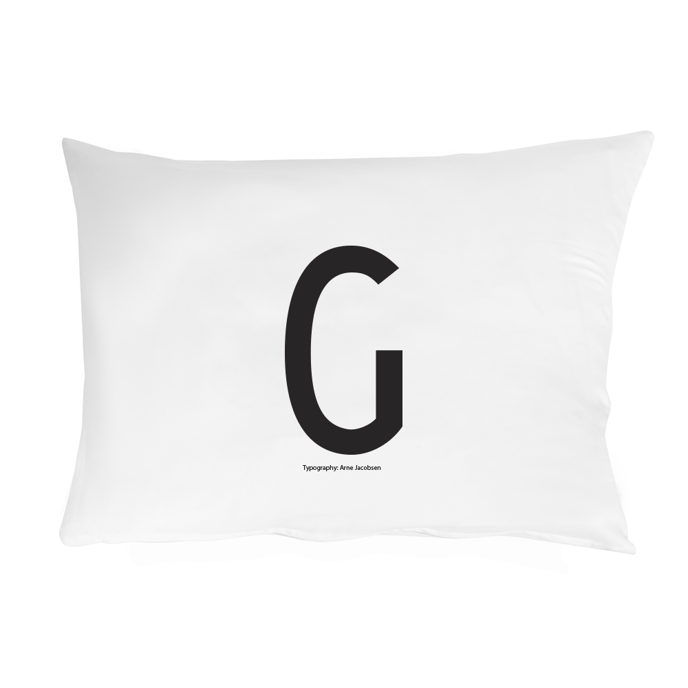 Personal Initial pillowcase 70x50 cm - Oh Happy Fry  - 13