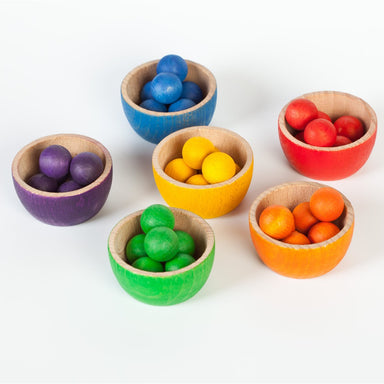 Grapat Bowls and Marbles Sorting Game