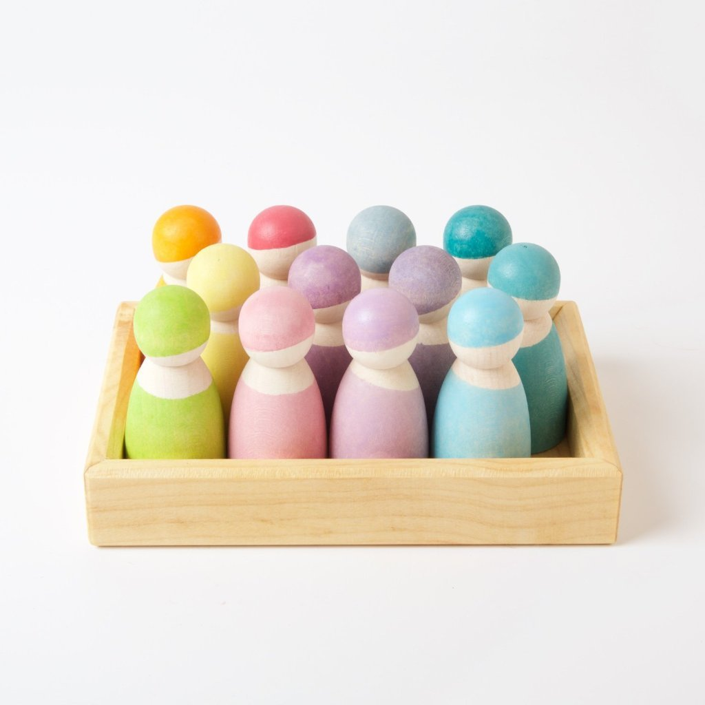GRIMM'S 12 Pastel Friends - Oh Happy Fry - we ship worldwide