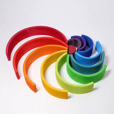 Grimm's 12-Piece Rainbow, Large - Oh Happy Fry - we ship worldwide