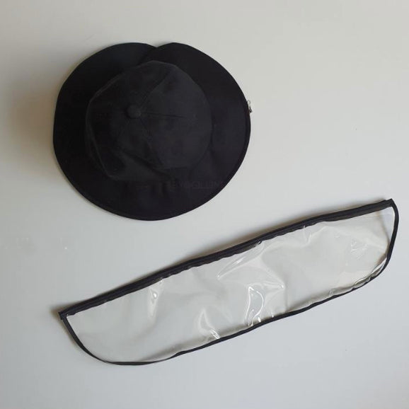 PREORDER Adult Sun Hat with Detachable Shield (end June delivery) - Oh Happy Fry - we ship worldwide