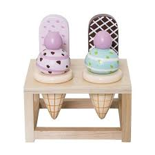 Bloomingville Wooden Ice Cream Play Set