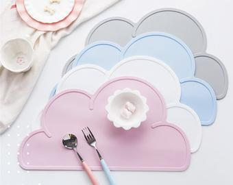 Cloud Silicone Placemat - 5 Colours