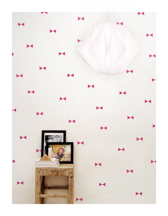 Pink Triangle Wall Decal - Oh Happy Fry - we ship worldwide