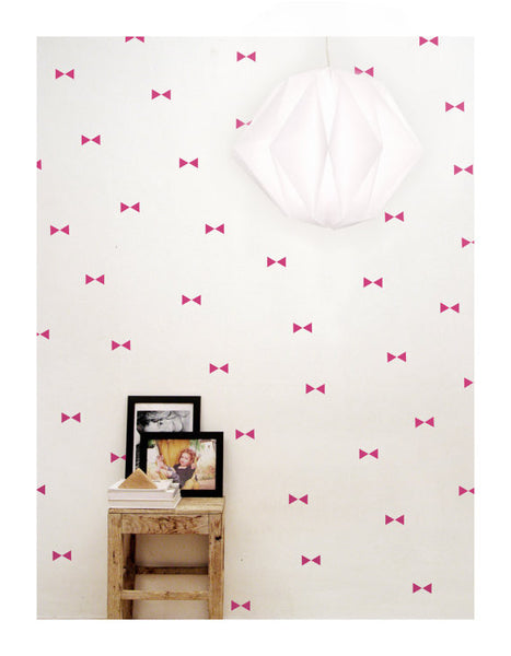 Pink Triangle Wall Decal - Oh Happy Fry  - 1