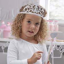 Princess Glitter Tiara - Oh Happy Fry - we ship worldwide