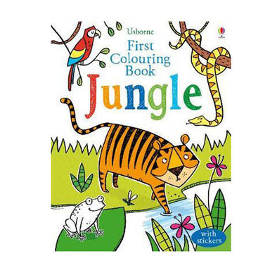First Colouring Book Jungle - Oh Happy Fry - we ship worldwide