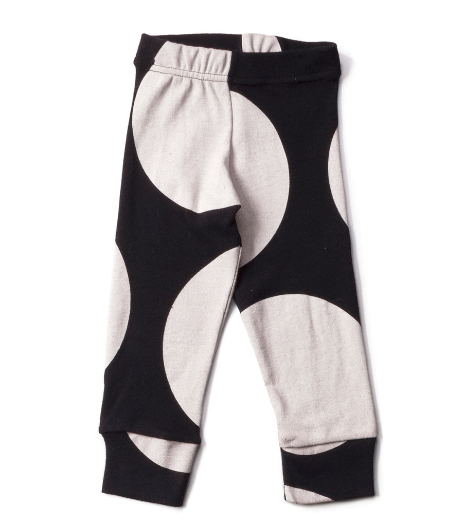 Black Circle Leggings - Oh Happy Fry - we ship worldwide