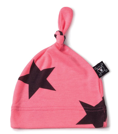 Pink Star Hat - Oh Happy Fry - we ship worldwide