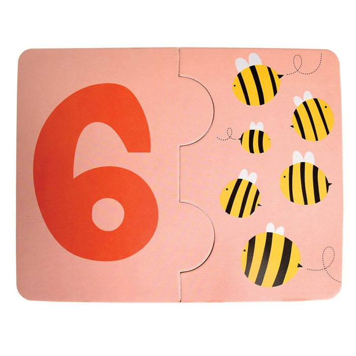 Learn Your Numbers Jigsaw Cards - Oh Happy Fry - we ship worldwide