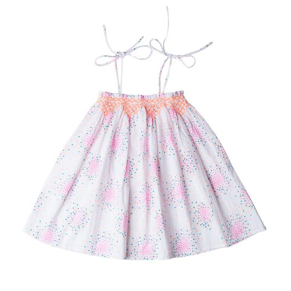 Lotte Dress Dot Swirl