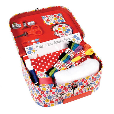 Make And Sew Suitcase - Oh Happy Fry