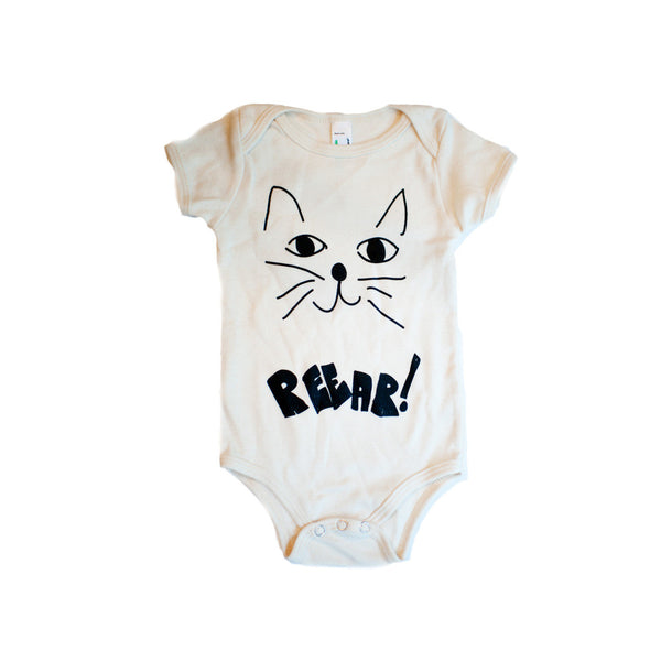 Mean Kitty Onesie - Oh Happy Fry  - 1