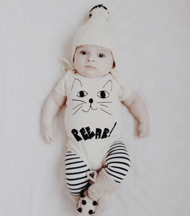 Mean Kitty Onesie - Oh Happy Fry - we ship worldwide