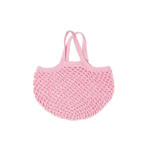 Mini French String bag - Pink
