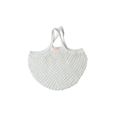 Mini French String bag - White