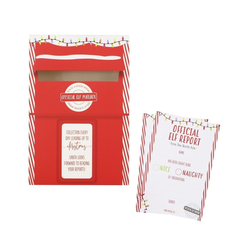 Elf Report Cards & Post Box - Oh Happy Fry - we ship worldwide