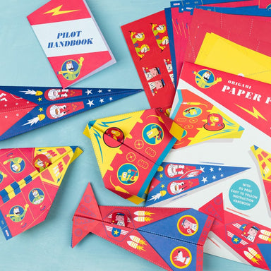 Origami Paper Planes - Oh Happy Fry - we ship worldwide