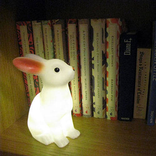 Rabbit Night Light - Oh Happy Fry - we ship worldwide