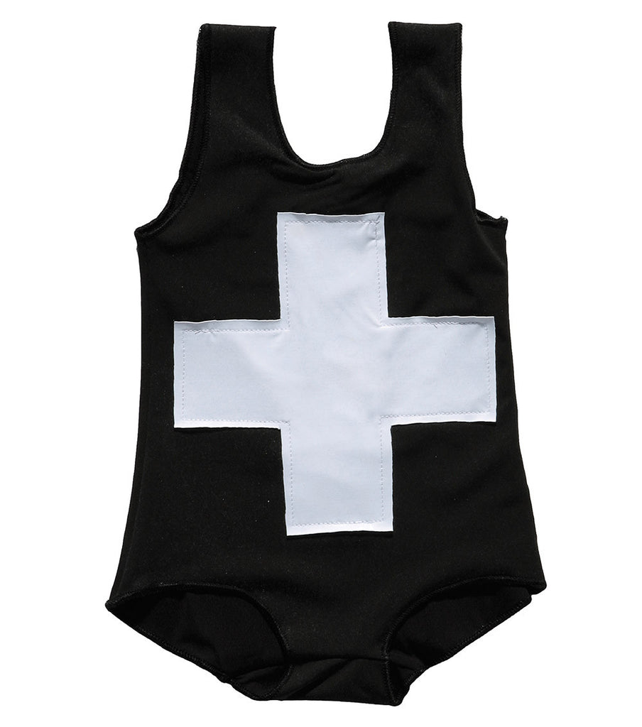 Black Plus Swimsuit - Oh Happy Fry  - 2