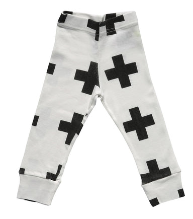 White Plus Leggings - Oh Happy Fry - we ship worldwide