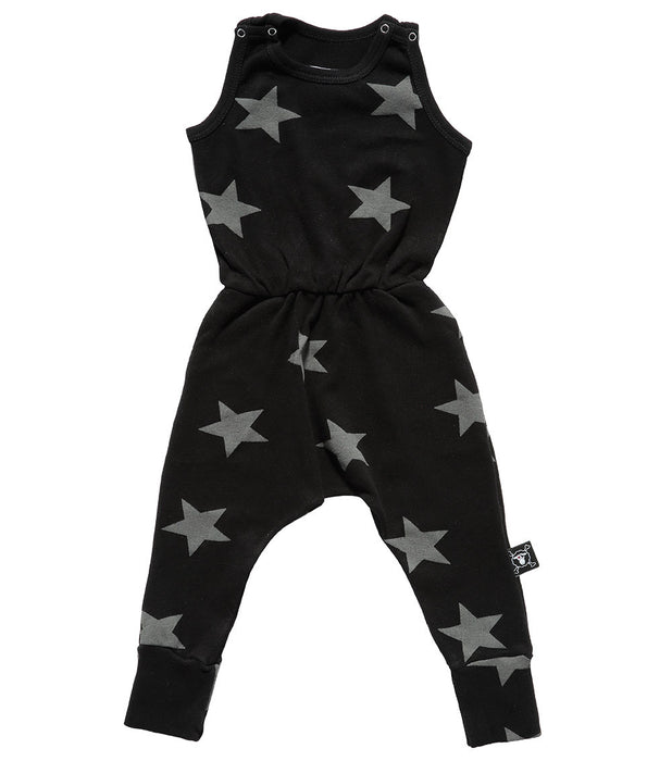 Black Star Romper - Oh Happy Fry - we ship worldwide