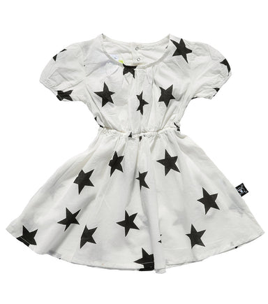 White Doll Cotton Dress - Oh Happy Fry - we ship worldwide