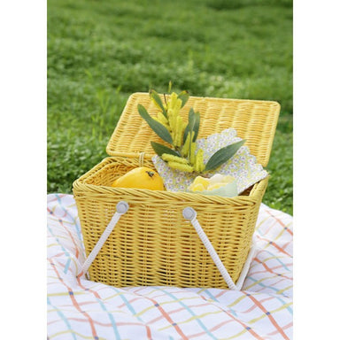 Piki Basket - Yellow - Oh Happy Fry - we ship worldwide