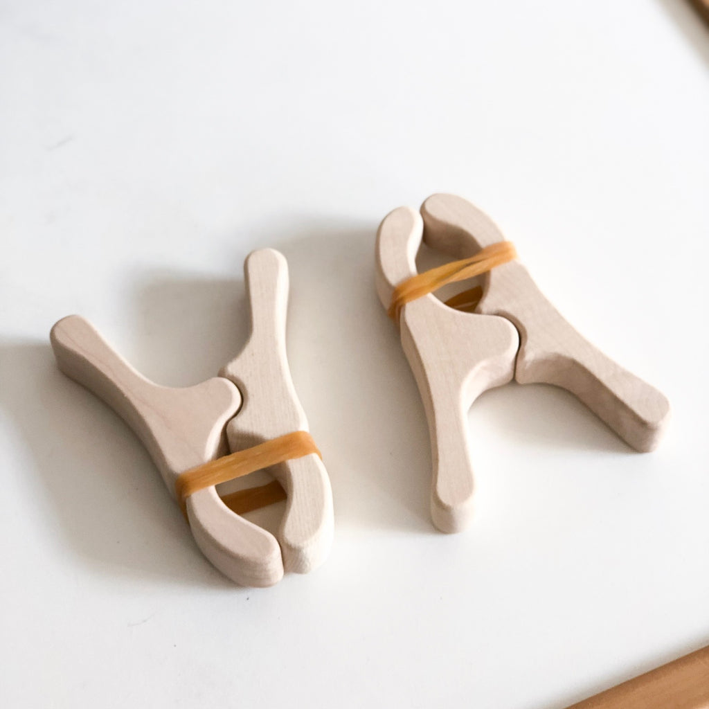 Wooden Play Clips - Oh Happy Fry - we ship worldwide