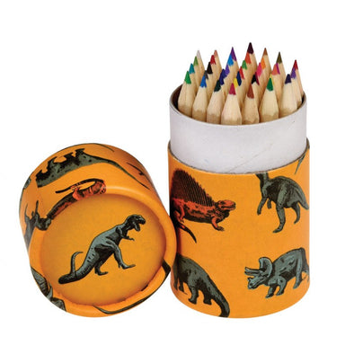 Prehistoric Land Colouring Pencils (set Of 36) - Oh Happy Fry - we ship worldwide