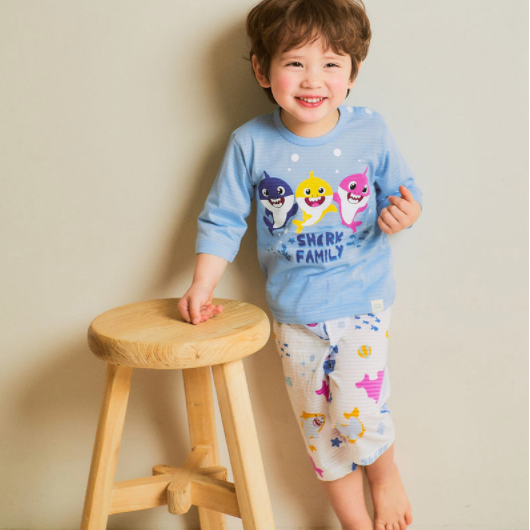 Baby Shark Family Lounge Wear Set - Oh Happy Fry - we ship worldwide