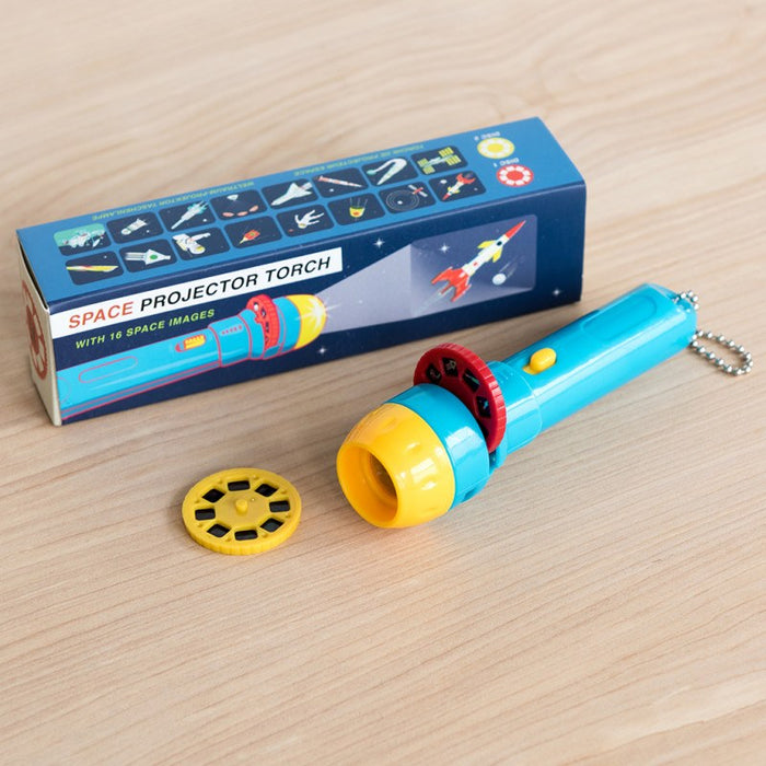 Space Age Projector Torch - Oh Happy Fry - we ship worldwide