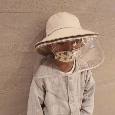 PREORDER Kids Sun Hat with Detachable Shield (early June delivery)