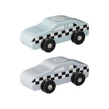 Bloomingville Wooden Toy Car Set of 2