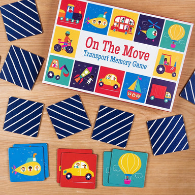 Transport Memory Card Game - Oh Happy Fry