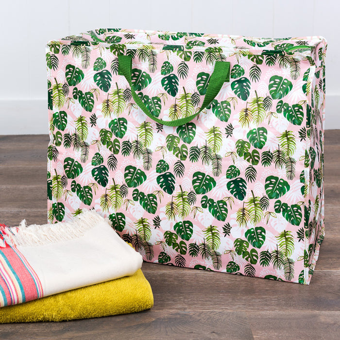 Tropical Palm Jumbo Bag - Oh Happy Fry - we ship worldwide