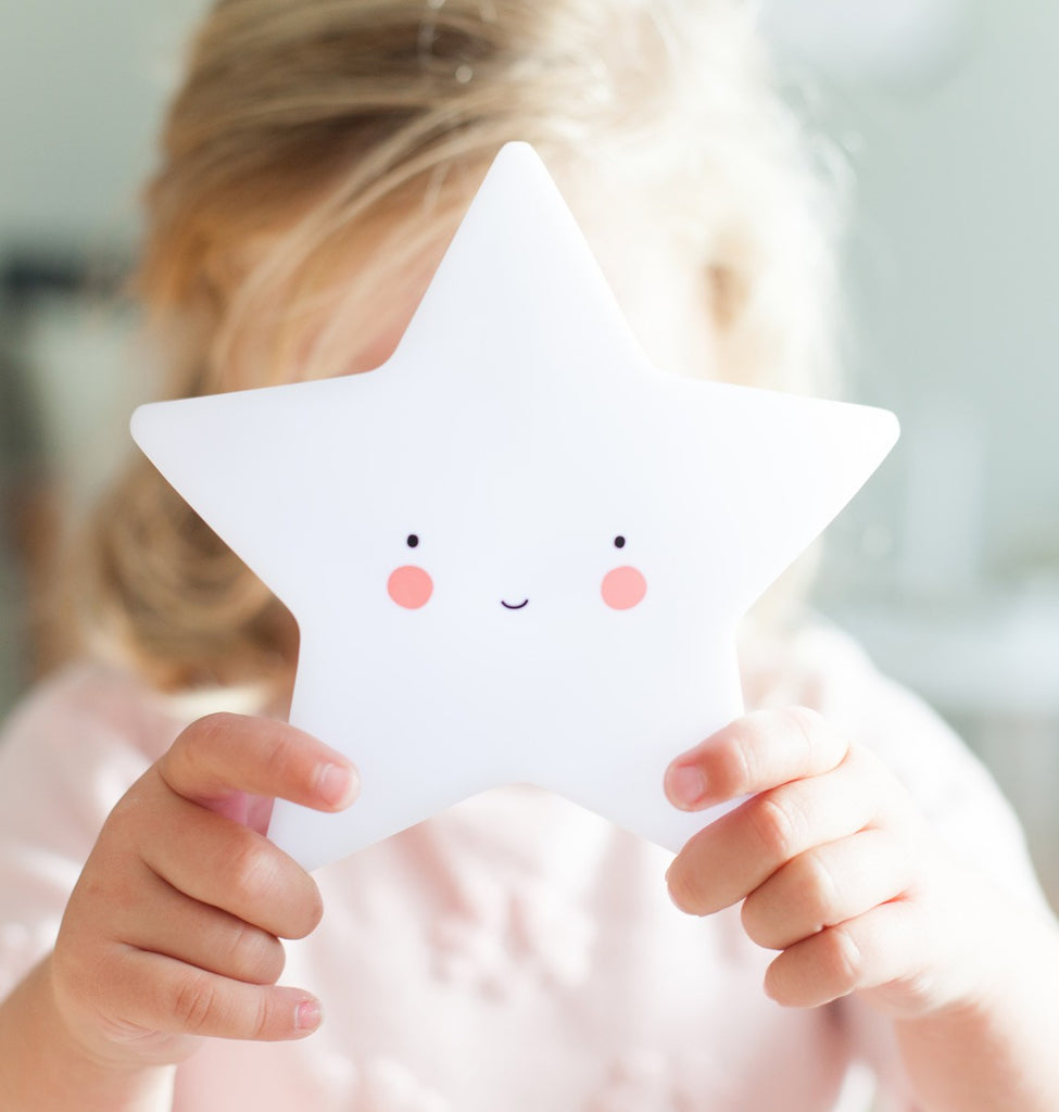 White Mini Star Light - Oh Happy Fry - we ship worldwide