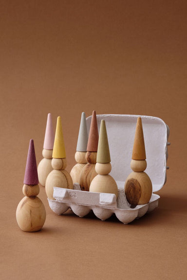 Wooden Gnome set