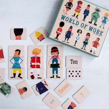 World Of Work Mix And Match Game
