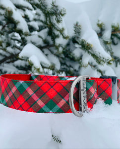 Red and green plaid