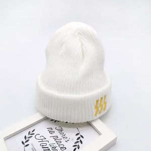 Baby / Toddler Fashionable Solid Lightning Knitted Hat