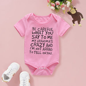 Baby Boy / Girl Slogan Bodysuits
